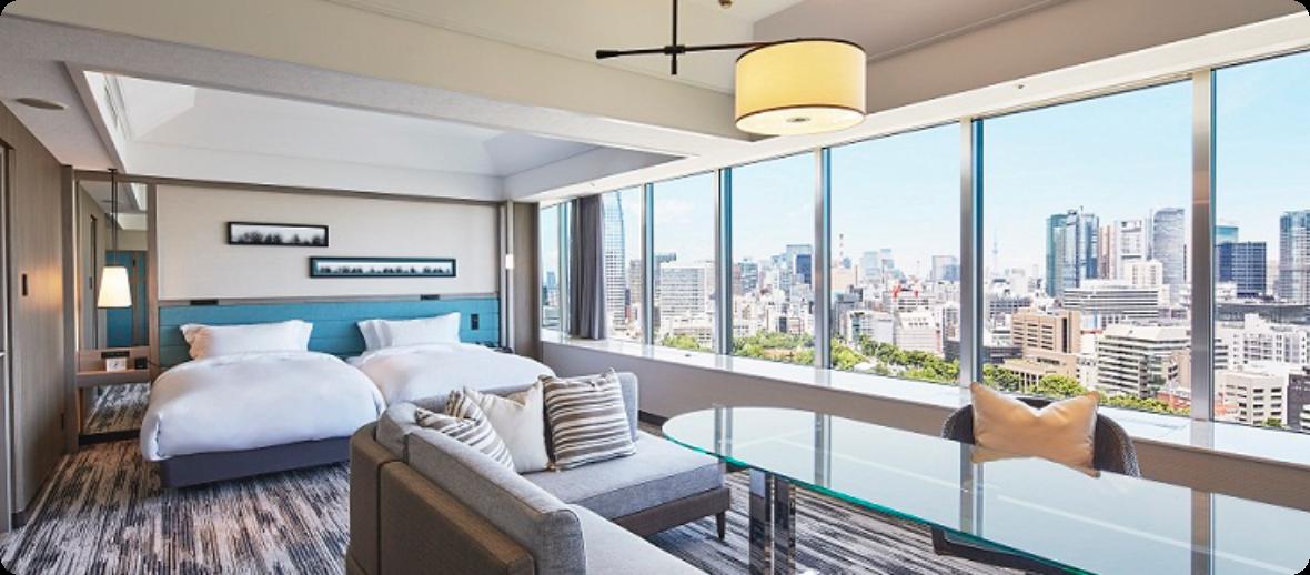 ザ・プリンス パークタワー東京 パノラミックフロアに期間限定で特別料金でご宿泊