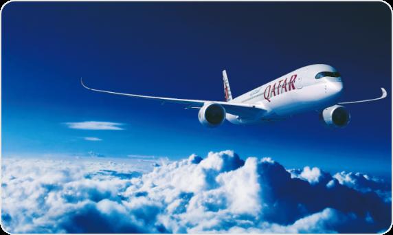 世界一を受賞したカタール航空より、 オリジナルギフトを50名様にプレゼント!